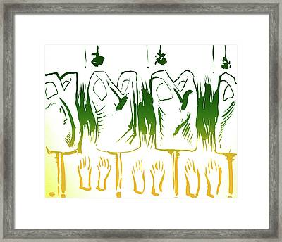 Wife Beater Factory Framed Print