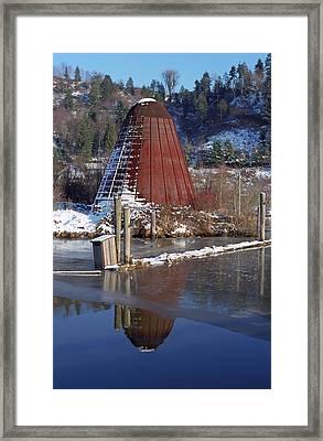 Wigwam Burner Framed Print