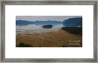 Wild Alaska Coast Framed Print by Mike Reid