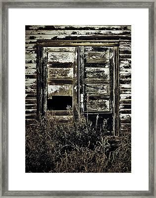 Wild Doors Framed Print by Jerry Cordeiro