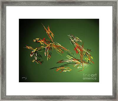 Wild Flowers Framed Print by Arne Hansen