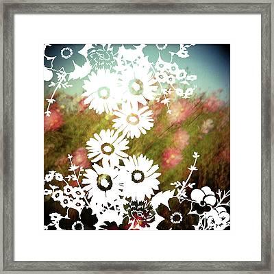 Wild Flowers Framed Print by Jenene Chesbrough