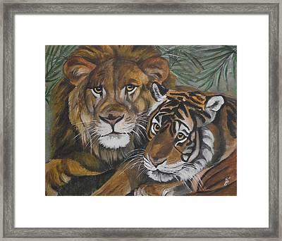 Wild Friends Framed Print by Kim Selig
