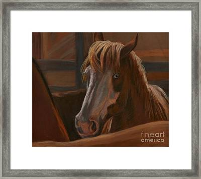 Framed Print featuring the painting Wild Hearts Will Not Be Broken by Sheri Gordon