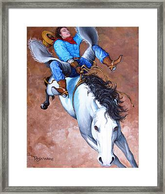 Wild Ride Framed Print by Tanja Ware