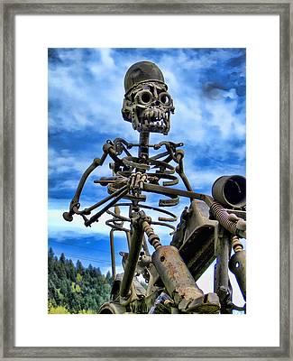 Wild Rider Framed Print