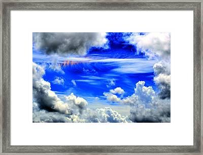 Wild Sky Framed Print by Bob Jackson