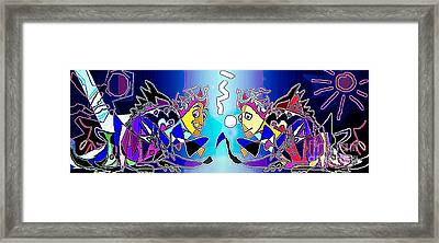 Framed Print featuring the digital art Wild Things by Hartmut Jager