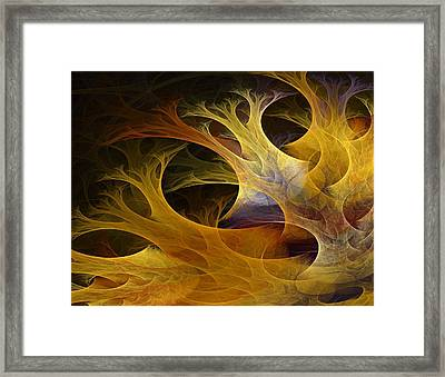 Wild Trees Framed Print