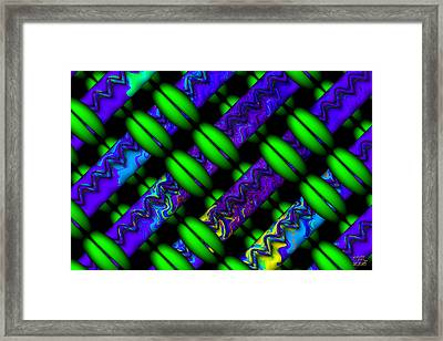 Wild Weave Framed Print by Manny Lorenzo