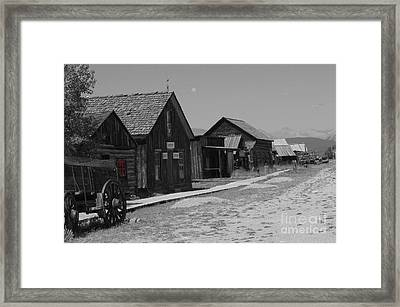 Framed Print featuring the photograph Wild Wild West by Deniece Platt