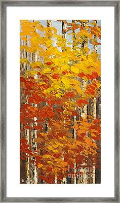 Framed Print featuring the painting Wild Wild Woods by Tatiana Iliina