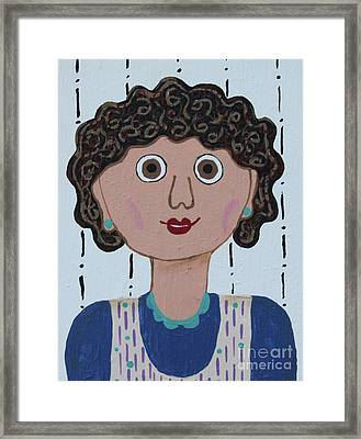 Wild Woman 3 Framed Print by Marilyn West