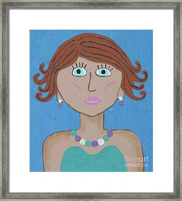 Wild Woman 4 Framed Print by Marilyn West