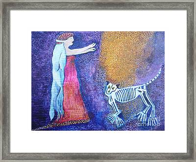 Wild Woman Framed Print by Catherine Meyers