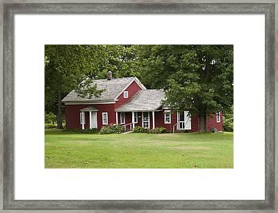 Wilder Homestead Framed Print