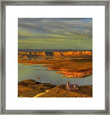 Wilderness Harbor Framed Print by JR Phillips