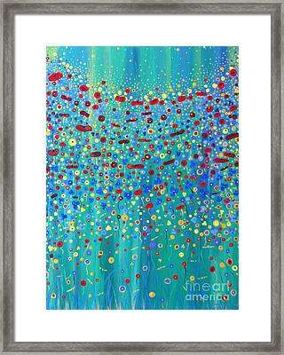 Wildflower Symphony Framed Print by Stacey Zimmerman
