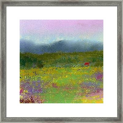 Wildflowers Framed Print by David Patterson