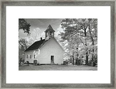 Framed Print featuring the photograph Wildwood Church by Mary Almond
