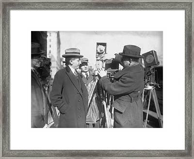 Will Hays 1879-1954, As Postmaster Framed Print by Everett