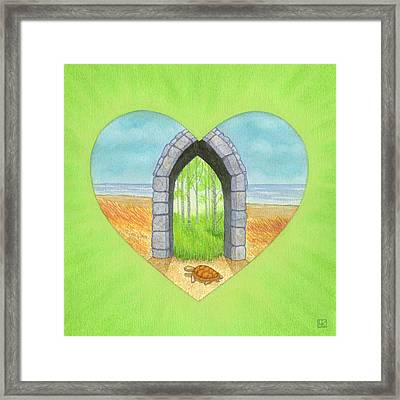 Will Framed Print by Lisa Kretchman