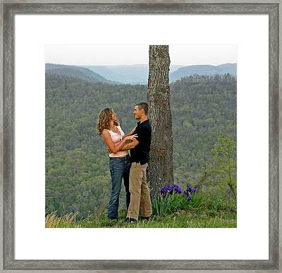 Will You Marry Me Framed Print