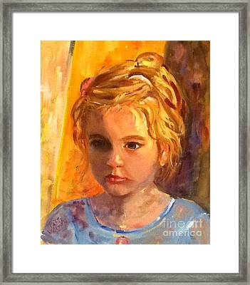 Willa Framed Print