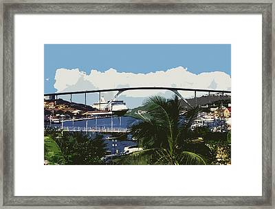 Willemstad - Curacao Framed Print by Juergen Weiss