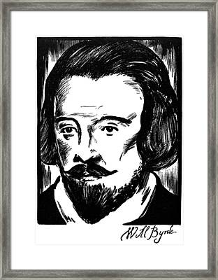 William Byrd (c1540-1623) Framed Print by Granger