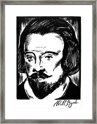 William Byrd (c1540-1623) Framed Print by Granger