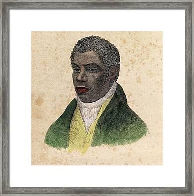William Davidson, British Conspirator Framed Print