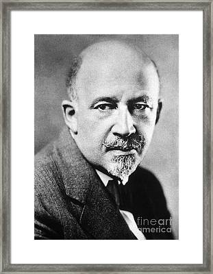 William E.b. Du Bois Framed Print by Granger