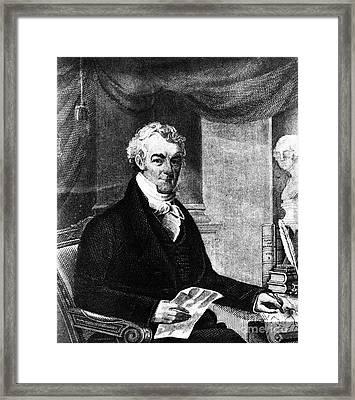 William Eustis (1753-1825) Framed Print by Granger