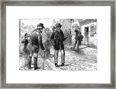 William Ewart Gladstone Framed Print by Granger