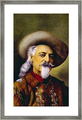 William F. Cody Aka Buffalo Bill Cody Framed Print
