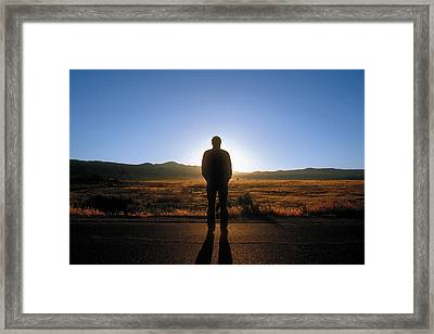 William Flocken Framed Print