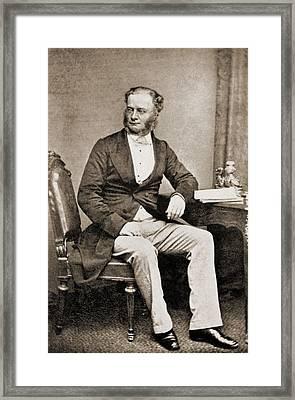 William Fothergill Cooke 1806-1879 Framed Print