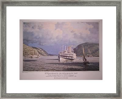 William G Muller Artwork Hudson School Framed Print
