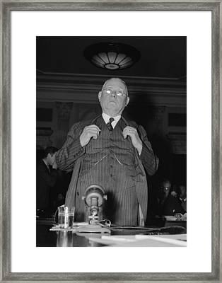 William Green 1873-1952, President Framed Print by Everett