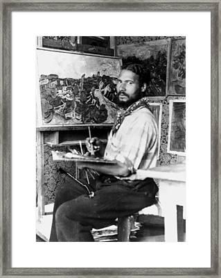 William Henry Johnson 1901-1970 Framed Print