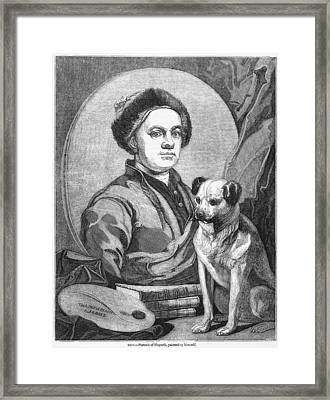 William Hogarth, British Artist Framed Print by Middle Temple Library