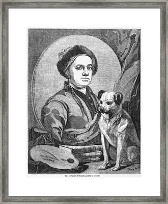 William Hogarth, British Artist Framed Print