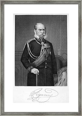 William I Of Prussia Framed Print by Granger