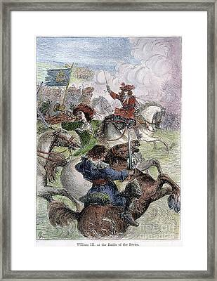 William IIi: Boyne, 1690 Framed Print by Granger