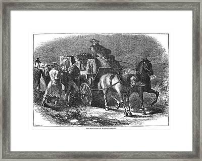 William Morgan (1774-1826) Framed Print