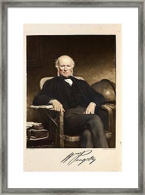 William Pengelly Geology Human Antiquity Framed Print
