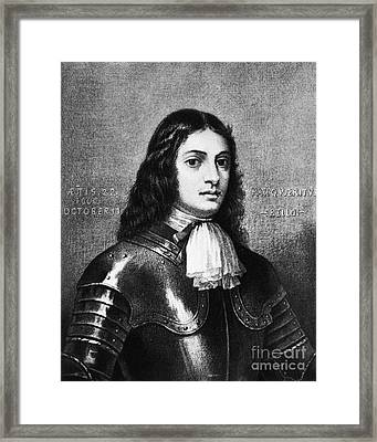 William Penn, Founder Of Pennsylvania Framed Print