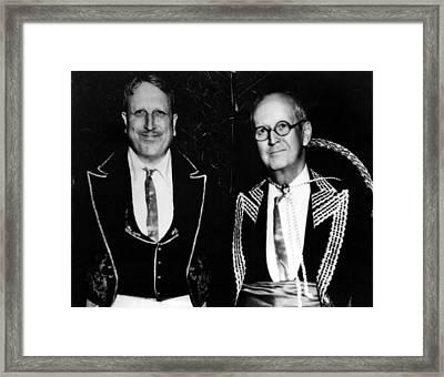 William Randolph Hearst & Arthur Framed Print by Everett