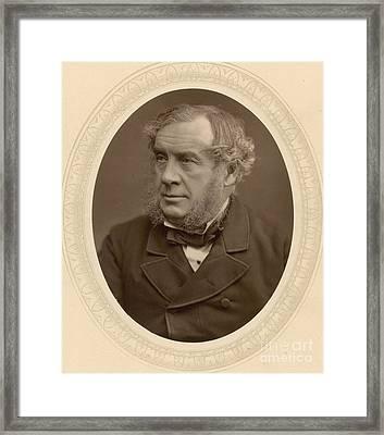 William Robert Grove, British Scientist Framed Print by Science Source